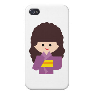 KimonoGirlNew5 iPhone 4 Cover