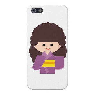KimonoGirlNew5 iPhone 5 Cases