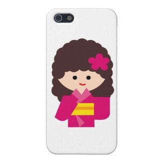 KimonoGirlNew6 Covers For iPhone 5