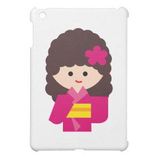 KimonoGirlNew6 iPad Mini Covers