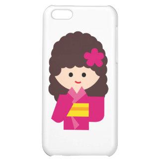 KimonoGirlNew6 iPhone 5C Cover