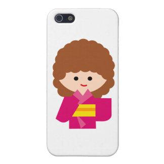 KimonoGirlNew7 Covers For iPhone 5