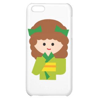KimonoGirlNew8 iPhone 5C Cases