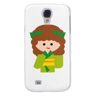 KimonoGirlNew8 Samsung Galaxy S4 Case