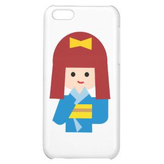 KimonoGirlNew9 Cover For iPhone 5C