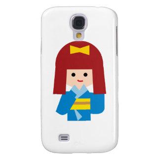 KimonoGirlNew9 Samsung Galaxy S4 Covers