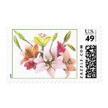 Kims Lilies Postage Stamp