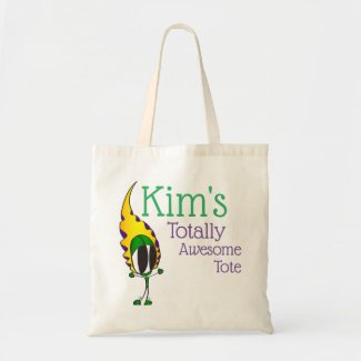 Kim's Totally Awesome | Add Your Name Tote Bag