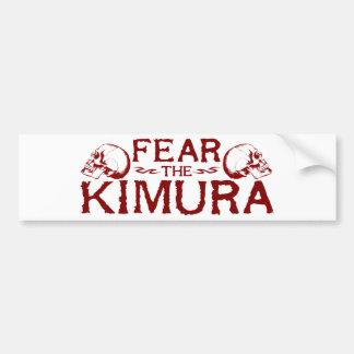 Kimura Bumper Sticker
