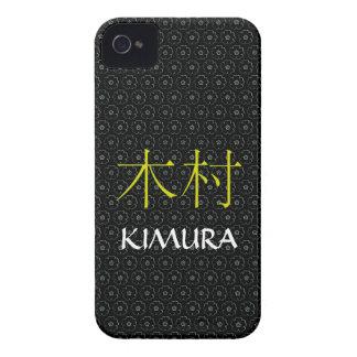 Kimura Monogram iPhone 4 Case