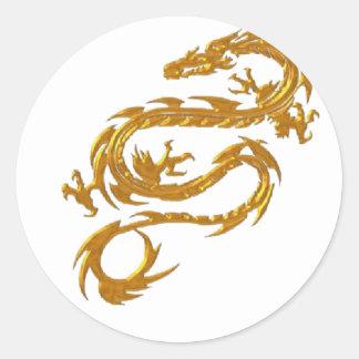 Kin ryu Japanese Dragon Stickers