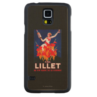 Kina Lillet Vintage PosterEurope Carved Maple Galaxy S5 Case