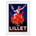 Kina Lillet Vintage PosterEurope Greeting Cards