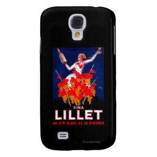 Kina Lillet Vintage PosterEurope Samsung Galaxy S4 Cover