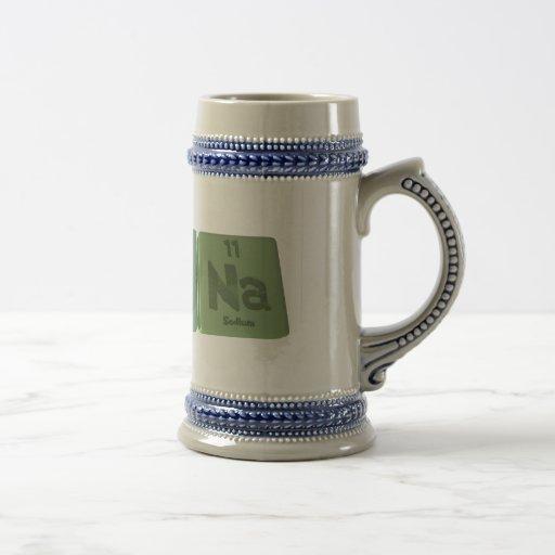 Kinas como sodio del yodo del potasio taza de café