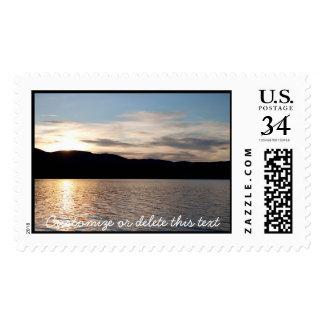 Kinaskan Sunset; Customizable Stamp