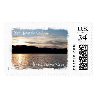 Kinaskan Sunset Postage Stamp