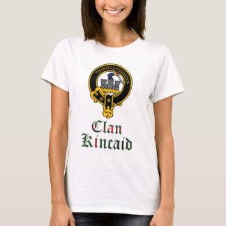 Kincaid scottish crest and tartan clan name T-Shirt