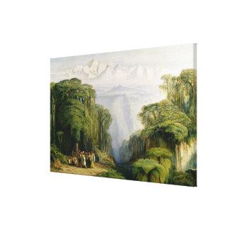 Kinchinjunga de Darjeeling, 1879 (aceite en lona) Impresiones En Lona Estiradas