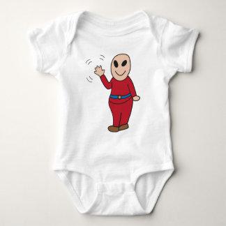 Kind Alian Baby Bodysuit