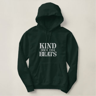 "Kind Beats ""Since 1994"" Army Embroidered Hoodie"