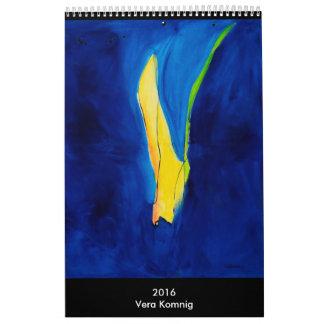 Kind Calendar art calendar Vera Komnig
