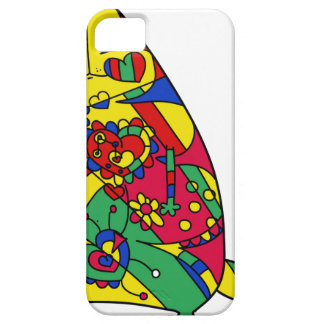 Kind cat iPhone 5 cover