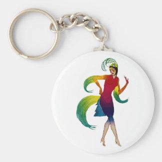 Kind Deco dancer more dancer Keychain