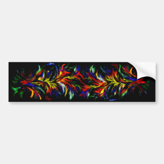 Kind Deco in rainbow styles Bumper Sticker