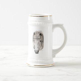 Kind Eyes - Icelandic Horse Beer Stein