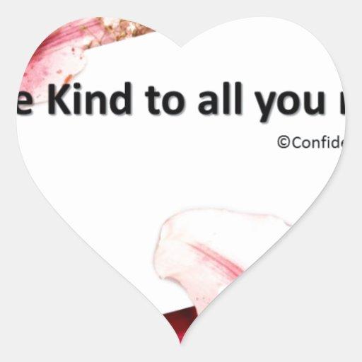 kind.jpg pegatina en forma de corazón