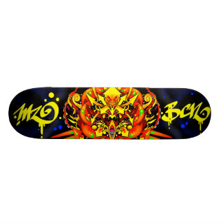 kind mzobcn skateboard deck