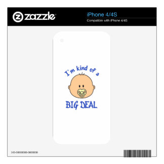 KIND OF A BIG DEAL BOY SKINS FOR iPhone 4