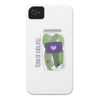 Kind of a Big Dill iPhone 4 Case