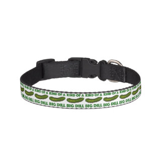 Kind of a Big Dill (Deal) Crunchy Green Pickle Pet Collar