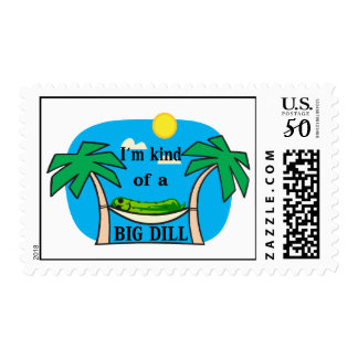 Kind Of A Big Dill Pickle Postage
