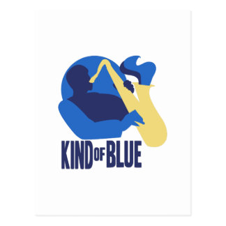 Kind of Blue Postcard
