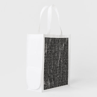 Kind Of Grey Concrete Reusable Grocery Bag