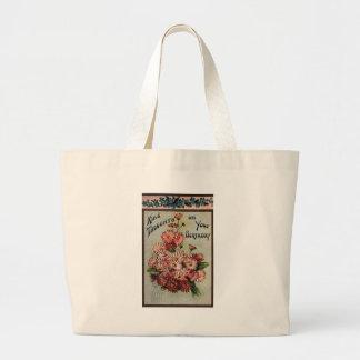 Kind Thoughts on Your Birthday Jumbo Tote Bag