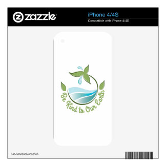 Kind To Earth Decals For The iPhone 4S