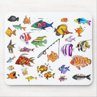 Kinda Fishy Mouse Pad