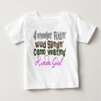 Kinda Girl Baby T-Shirt