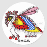 KINDA' LIKE A RAGS BUG STICKER