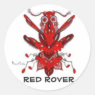 KINDA' LIKE A RED ROVER STICKER