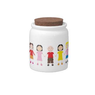 Kinder/Children/Niños Candy Dishes