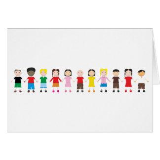Kinder/Children/Niños Card