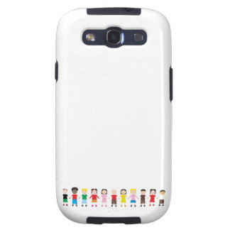Kinder/Children/Niños Galaxy S3 Case