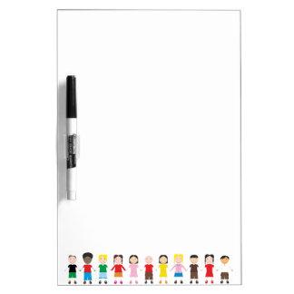 Kinder/Children/Niños Dry Erase Whiteboard