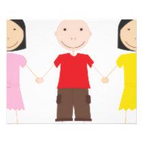 Kinder/Children/Niños Flyer