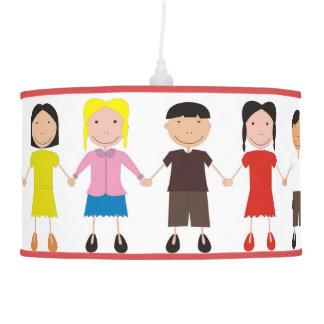 Kinder/Children/Niños Hanging Pendant Lamp